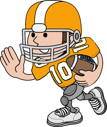 350x416 Football Player Clip Art 15 Clipart Panda