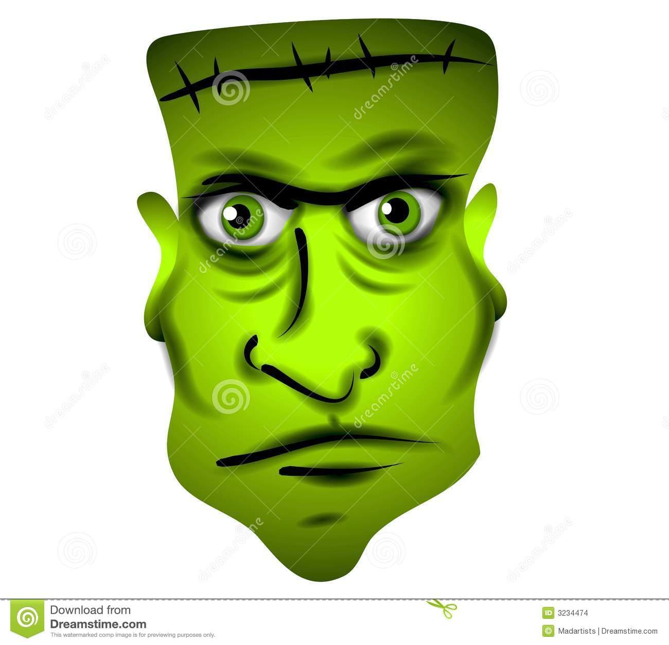 1300x1254 Frankenstein Clipart Face