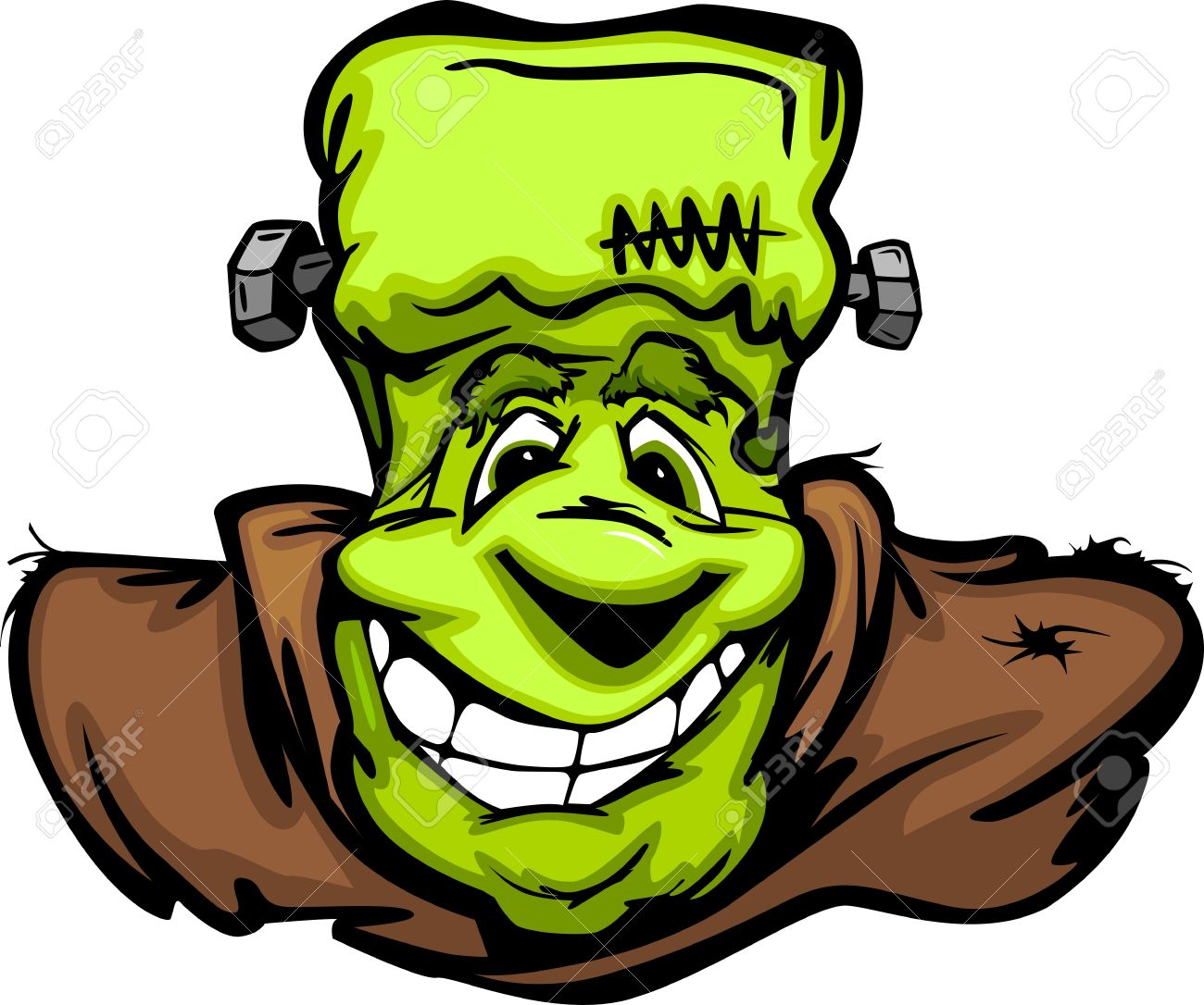 1300x1086 Frankenstein Clipart Happy Halloween
