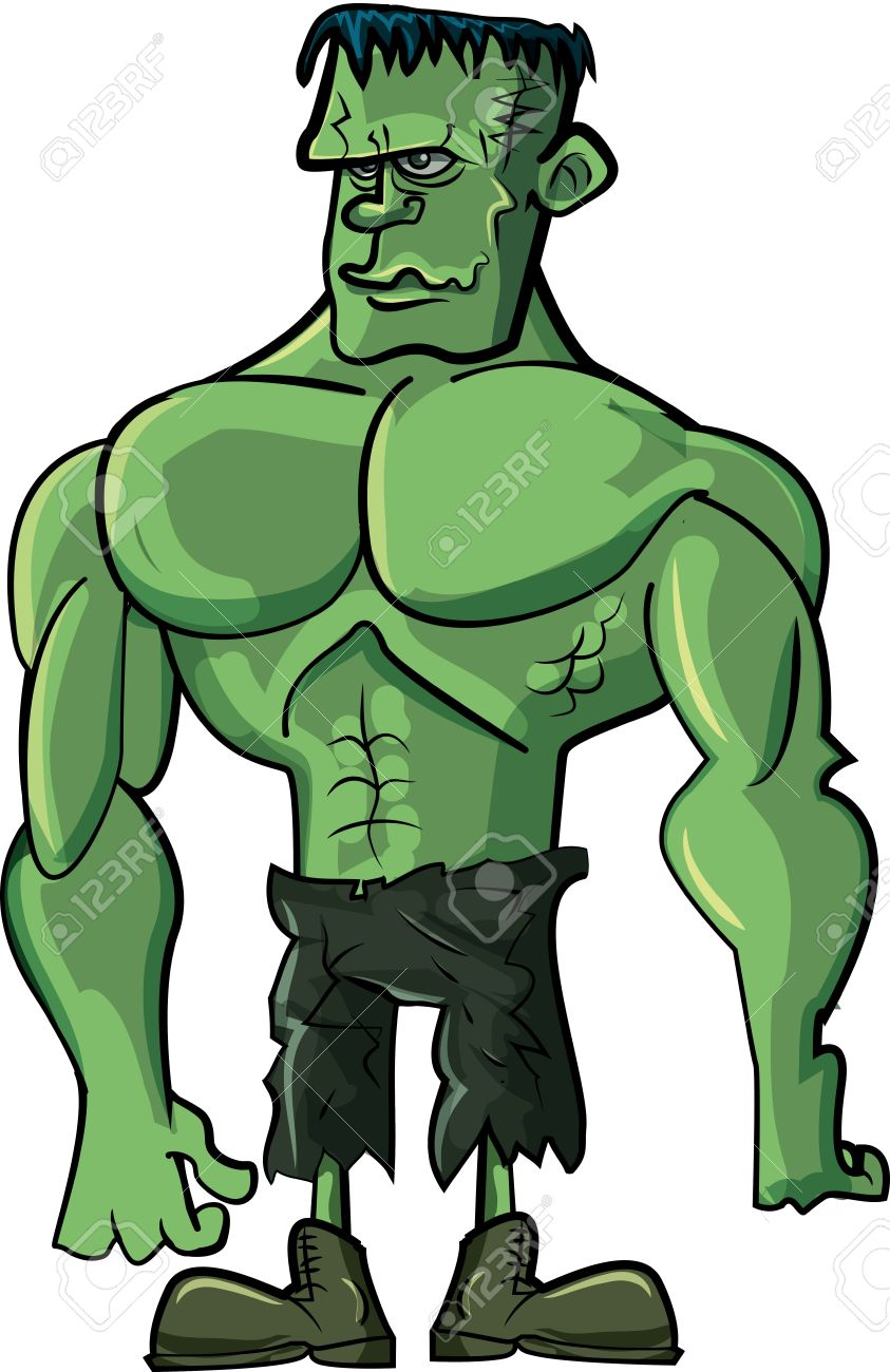 843x1300 Frankenstein Clipart Monster