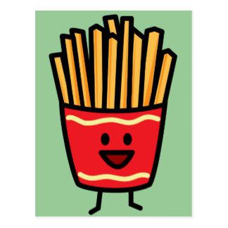 324x324 French Fries Postcards Zazzle