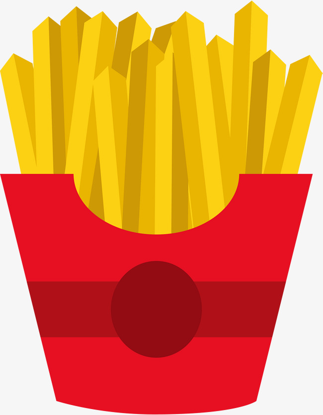 650x835 French Fries, Vector Png Png And Vector For Free Download