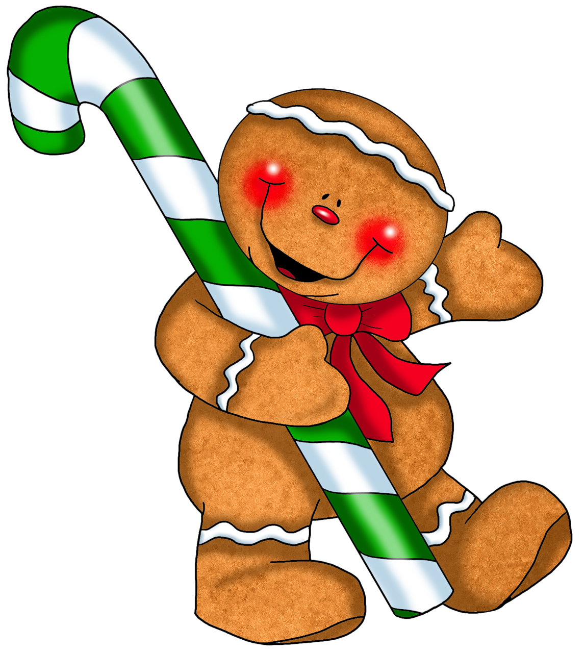 1147x1280 Free Gingerbread Man Clipart