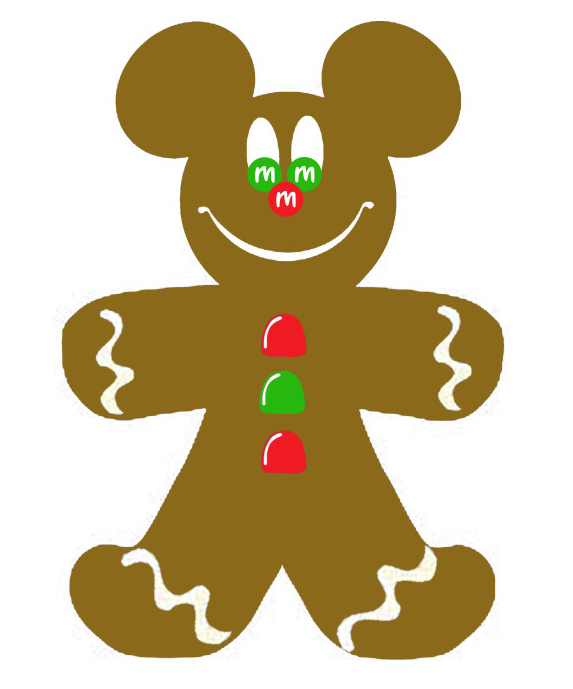 573x689 Gingerbread Man Clip Art Free Clipart Images 3