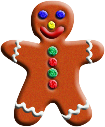 413x500 Gingerbread Man December Clipart Free Clip Art Images Image Image