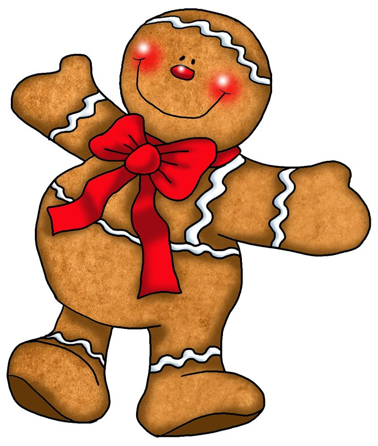 736x868 Scary Clipart Gingerbread Man