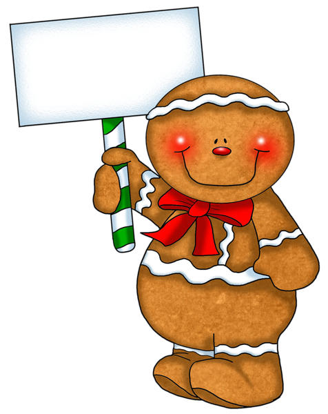 476x600 Gingerbread Man Man Walking Sunny Day Clip Art Clipart Cliparts 2