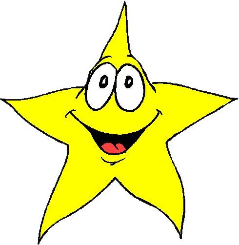 490x502 Free Star Clipart Image