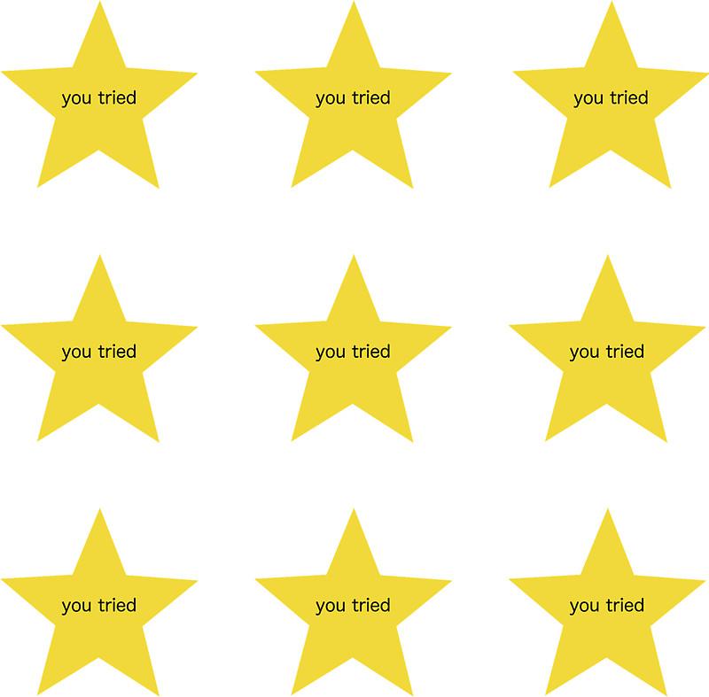 800x787 Adult Gold Stars