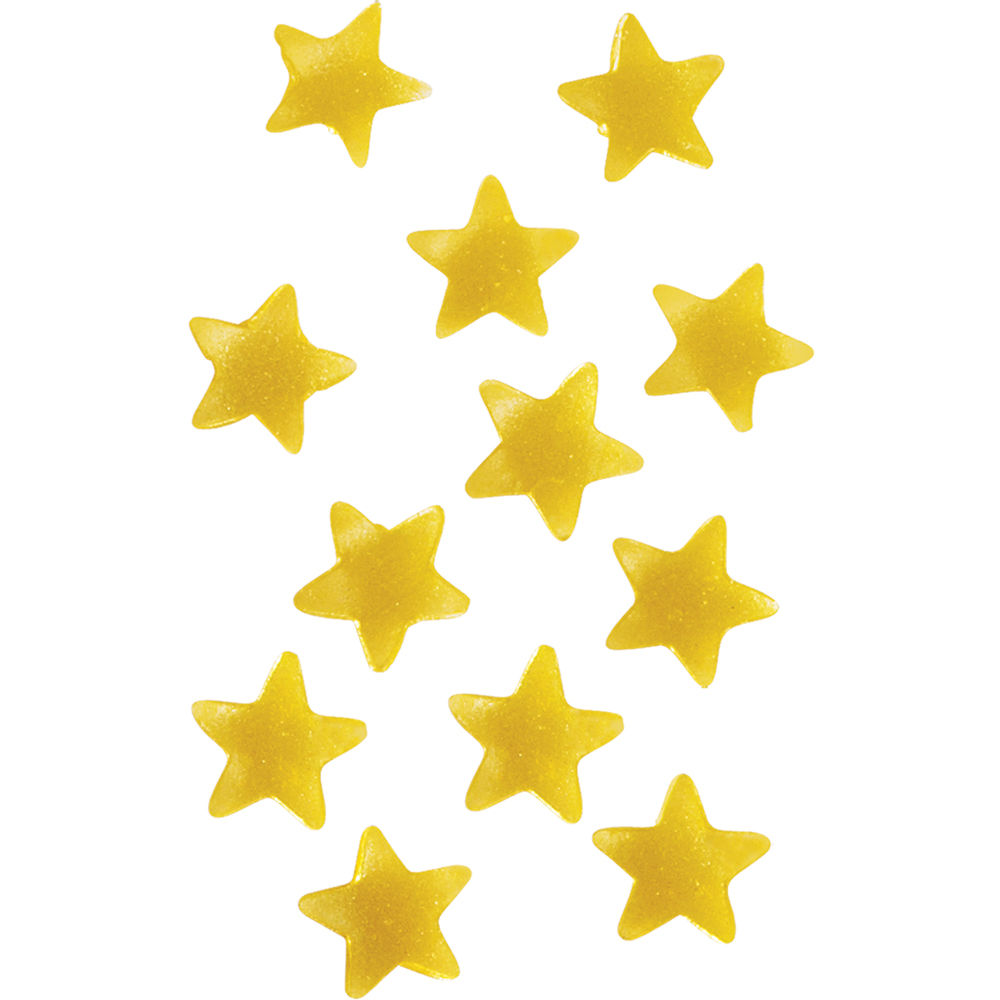 1000x1000 Gold Stars Edible Accents Wilton