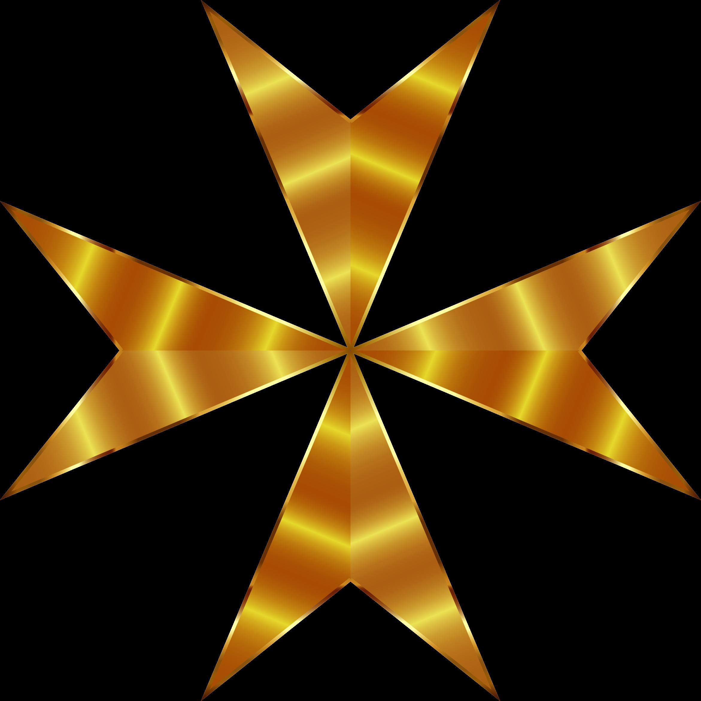 2342x2342 Stars Clipart Golden