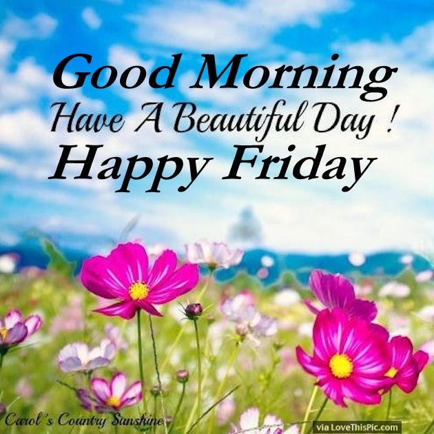 630x630 Good Morning Have A Beautiful Day Happy Friday Pictures, Photos