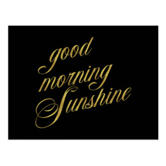 324x324 Good Morning Sunshine Postcards Zazzle