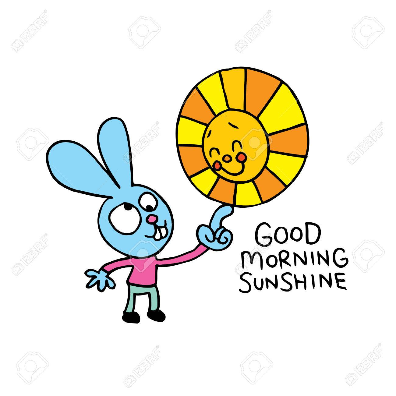 1300x1300 Good Morning Sunshine Royalty Free Cliparts, Vectors, And Stock