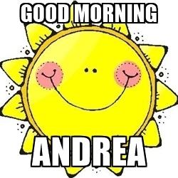 250x250 Good Morning Andrea