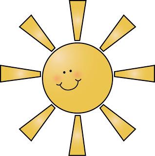 318x320 Sunshine Clipart Morning Sun
