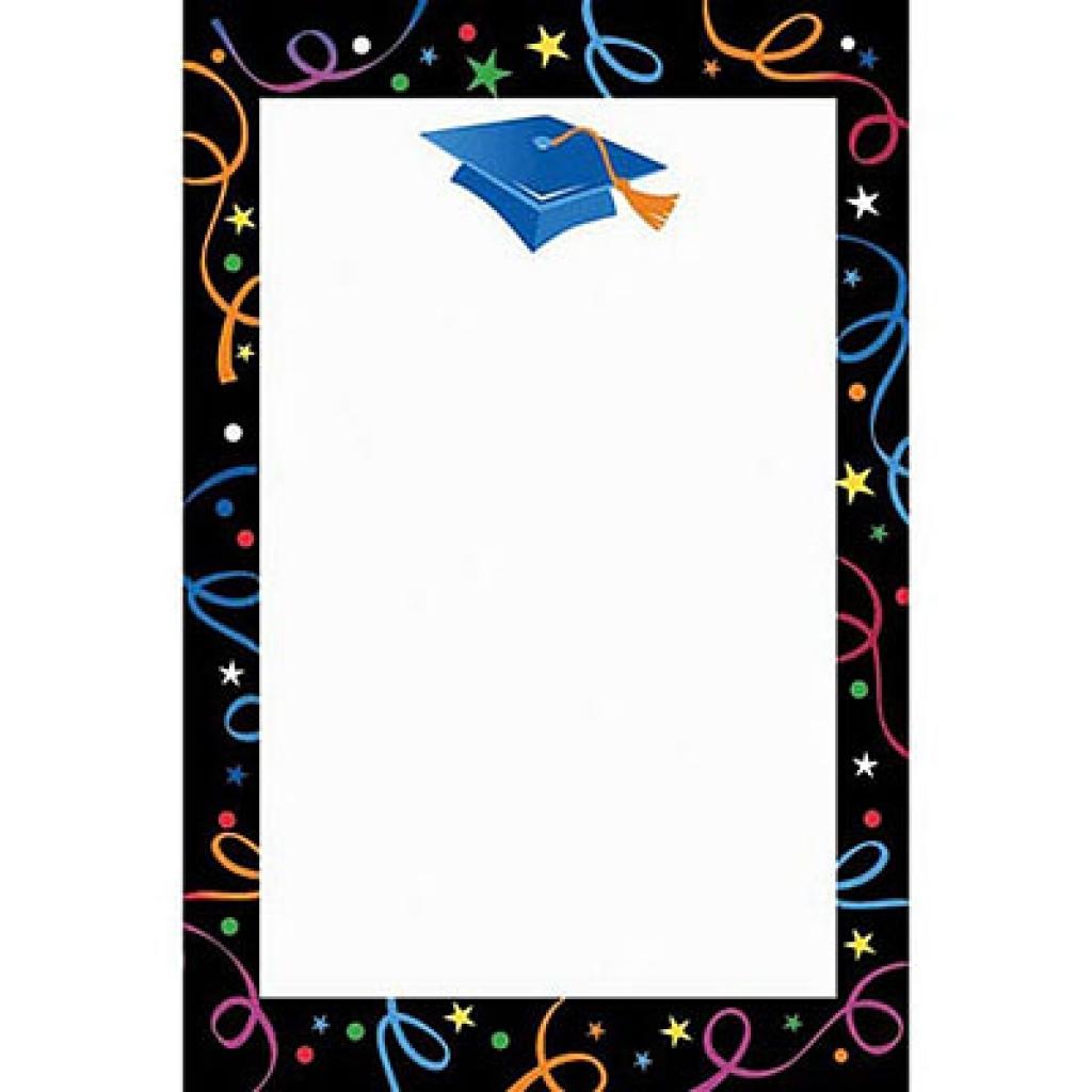 1024x1024 Free Graduation Clip Art Borders Clipart