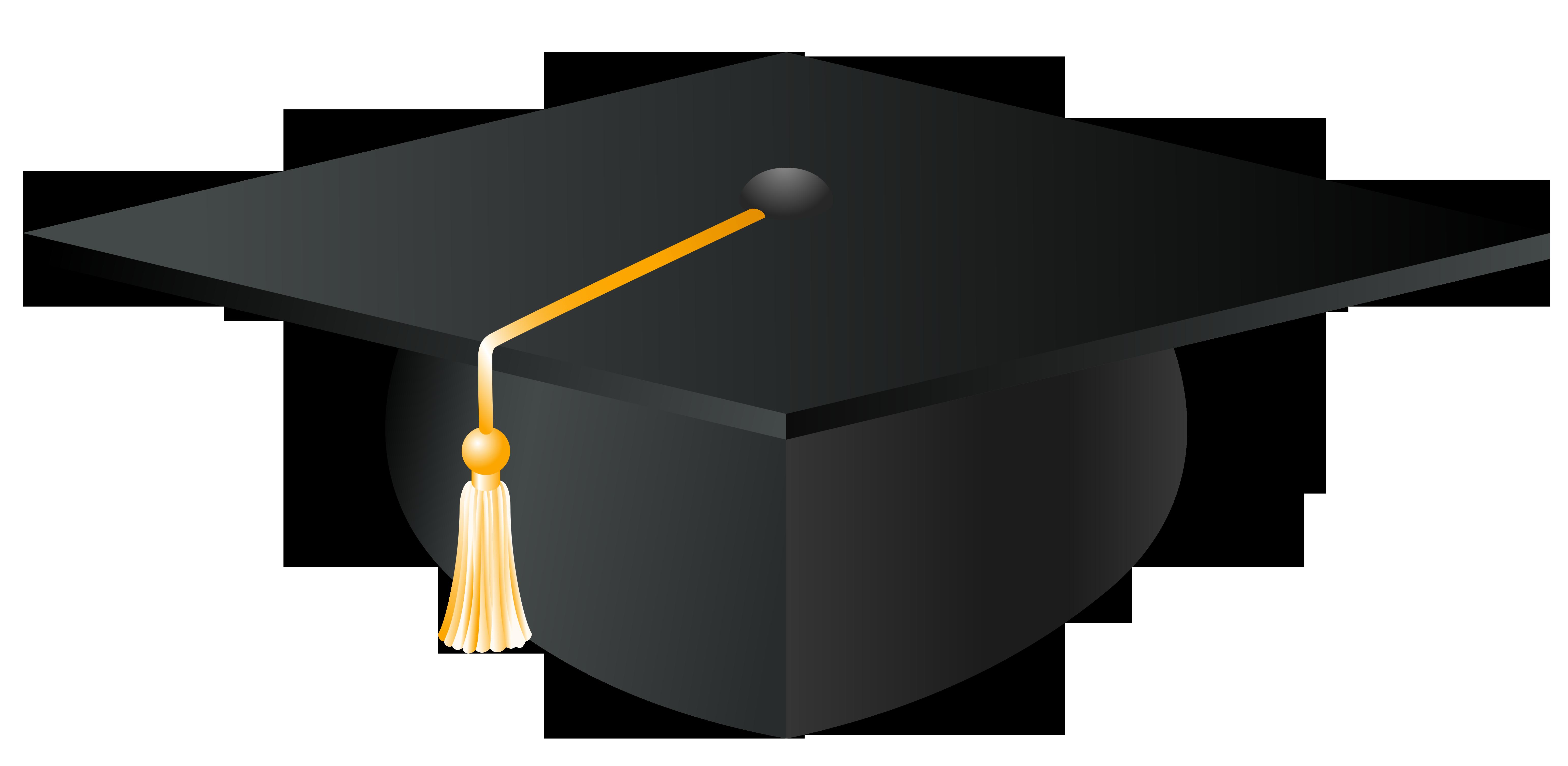 6162x3011 Graduation Hat Gold Graduation Cap Clip Art Pictures To Pin