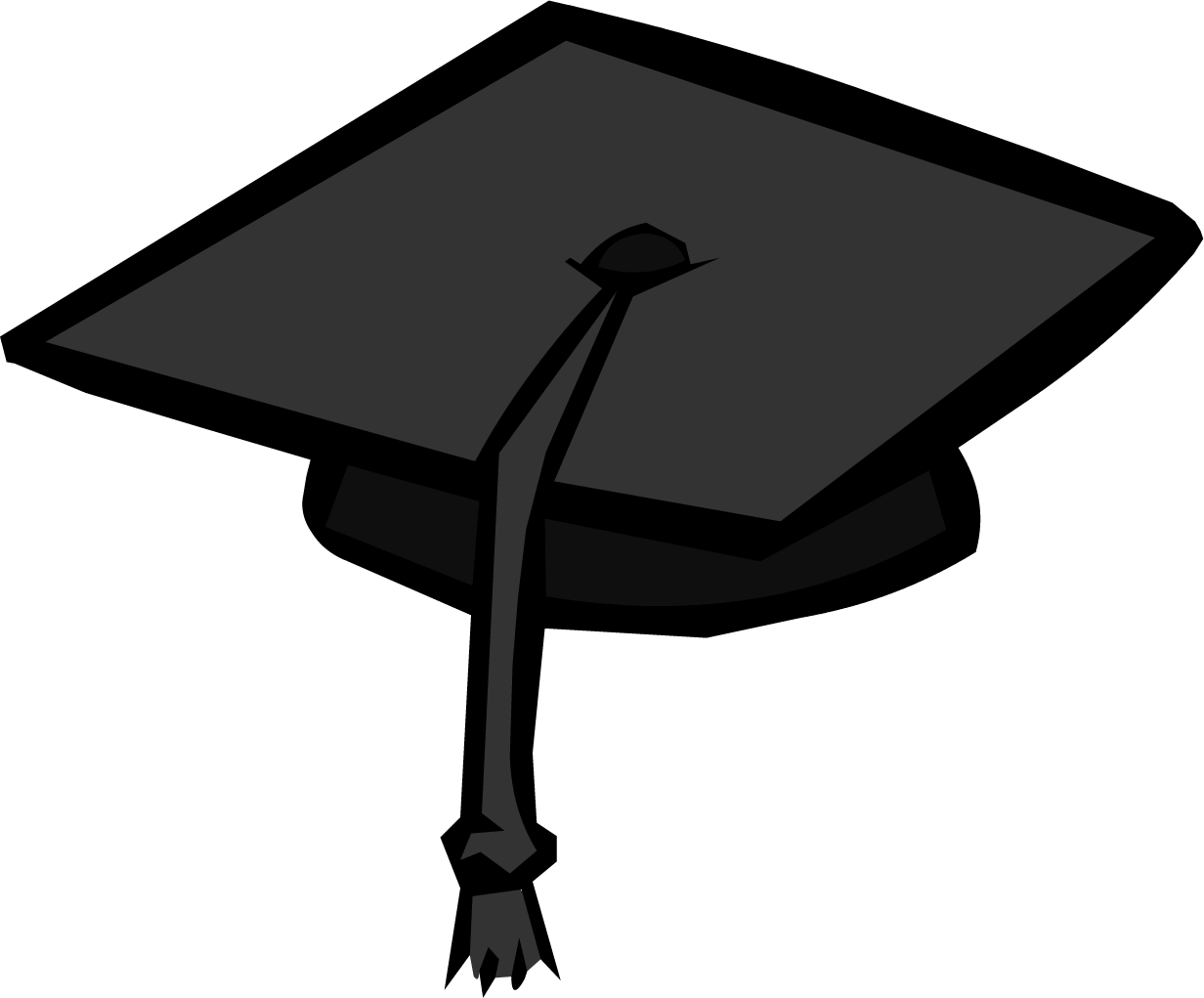 1232x1021 Graduation Cap Transparent Clipart 2