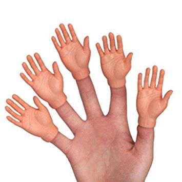 355x355 Set Of Ten Finger Hands Finger Puppets Toys Amp Games