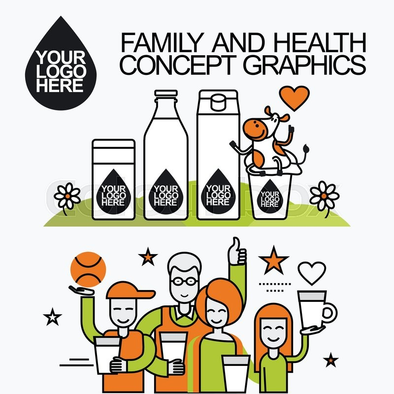 800x800 Concept Of A Family Who Leads A Healthy Lifestyle And Drinking
