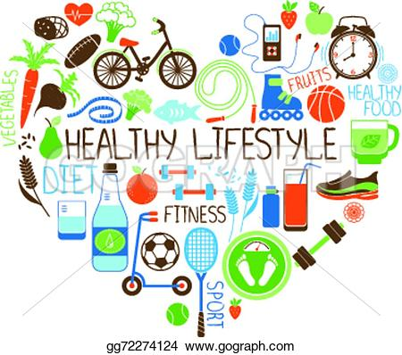 450x398 Healthy Lifestyle Clipart