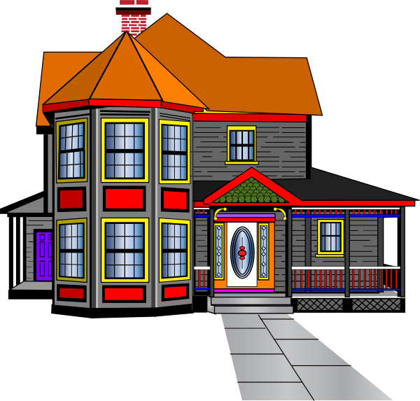 600x573 Mansion House Clip Art Free Images Clipart