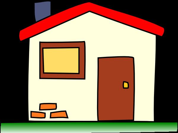 600x447 My House Clip Art