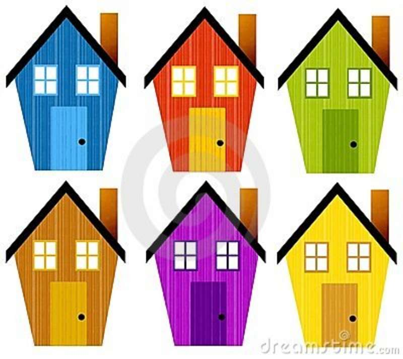 800x712 Ree Clipart Houses