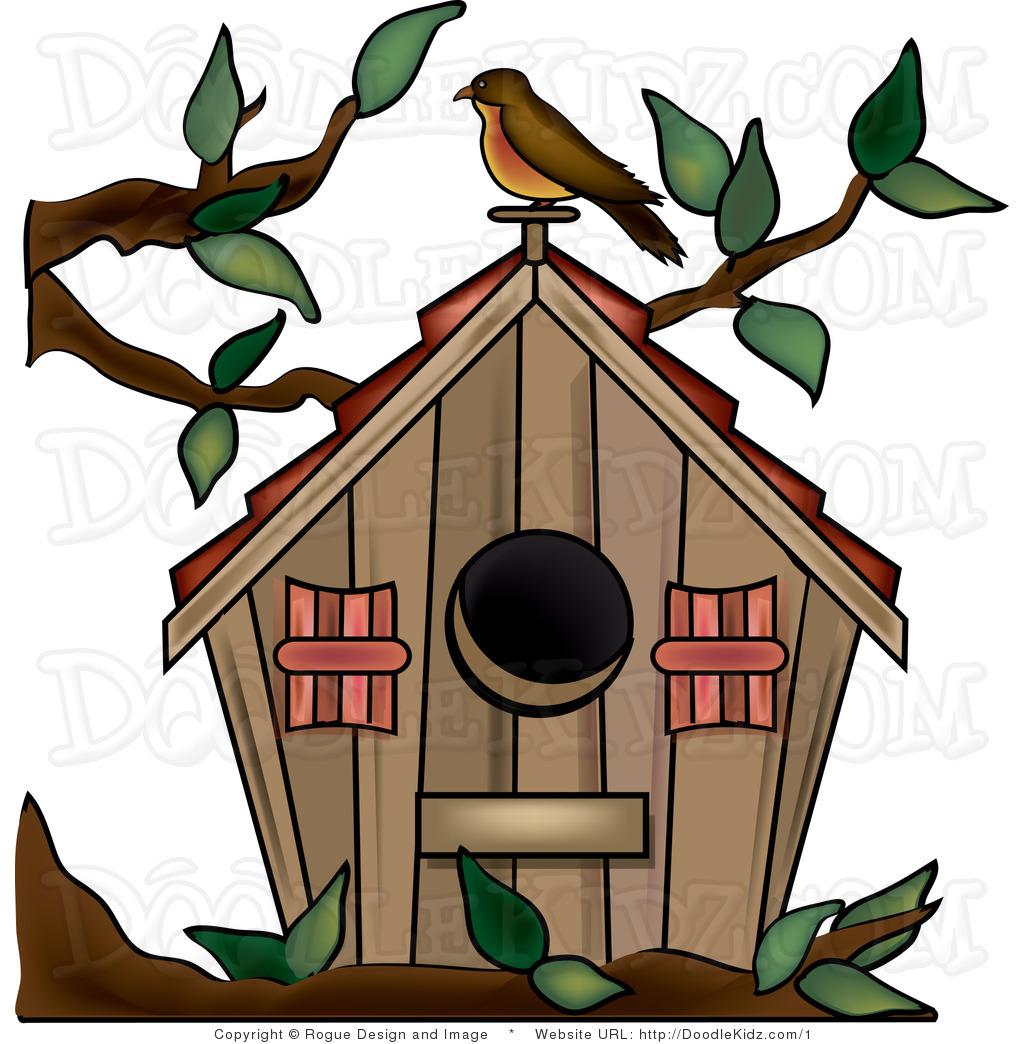 1024x1044 Cartoon Birdhouse Clipart