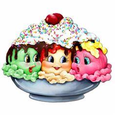 236x236 Ice Cream Scoops And Sundae Patterns Ice Cream Scoop, Language