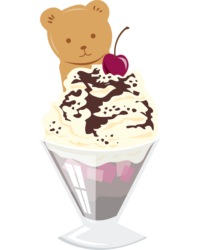 691x864 Ice Cream Sundaes