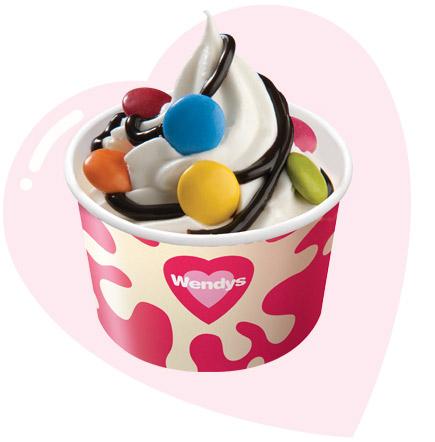 435x442 Wendys, Ice Cream Cakes, Ice Cream, Hot Dogs, Shakes, Smoothies