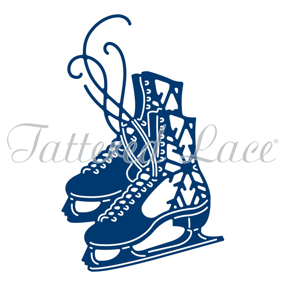 1000x1000 Ice Skates (Etl314) Tattered Lace