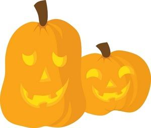 300x256 Jack O Lantern Halloween Clipart Image Clip Art Two Jack