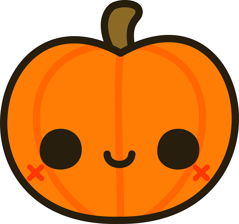 800x750 Cute Jack O' Lantern Stickers By Peppermintpopuk Redbubble