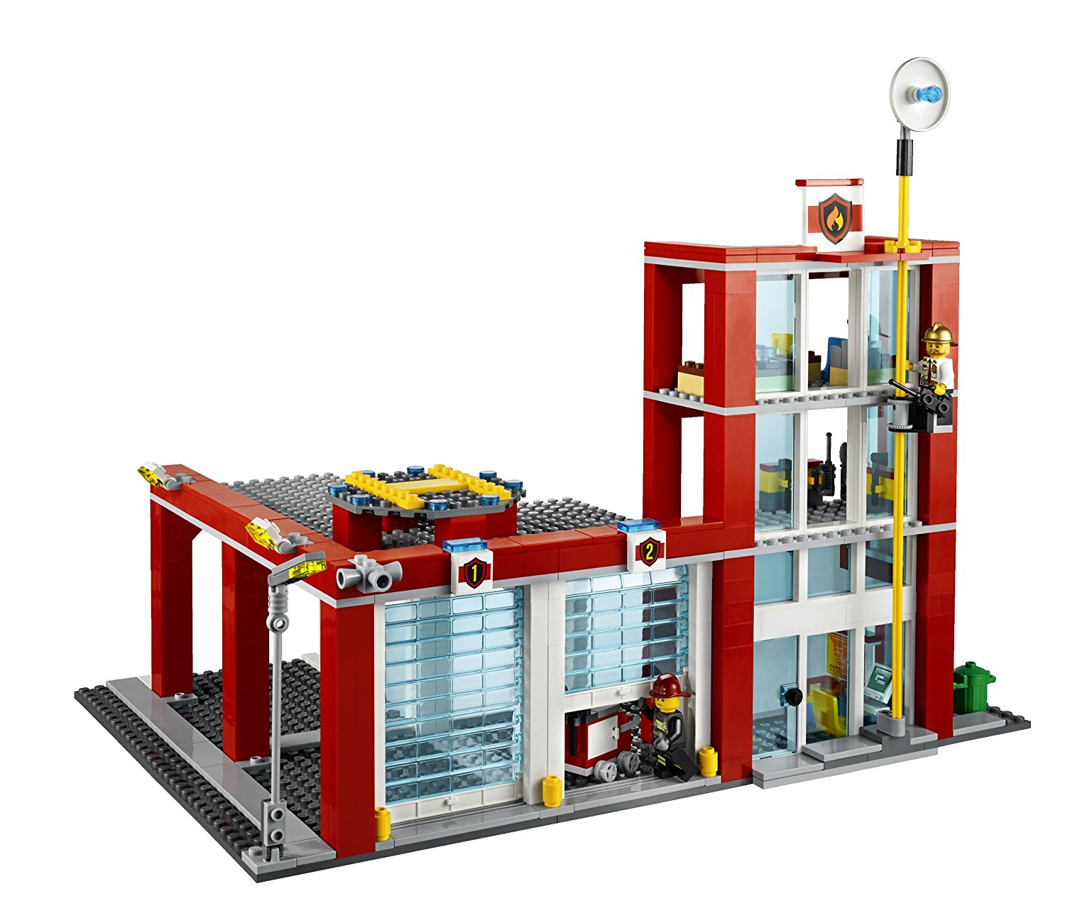 1500x1300 Lego City Fire Station 60004 Toys Amp Games