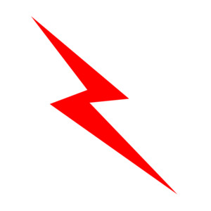300x300 Images Of Lightning Bolts Clip Art Clipart Image