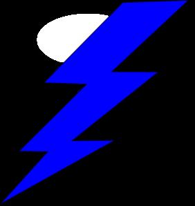 282x298 Lightening Bolt Clip Art