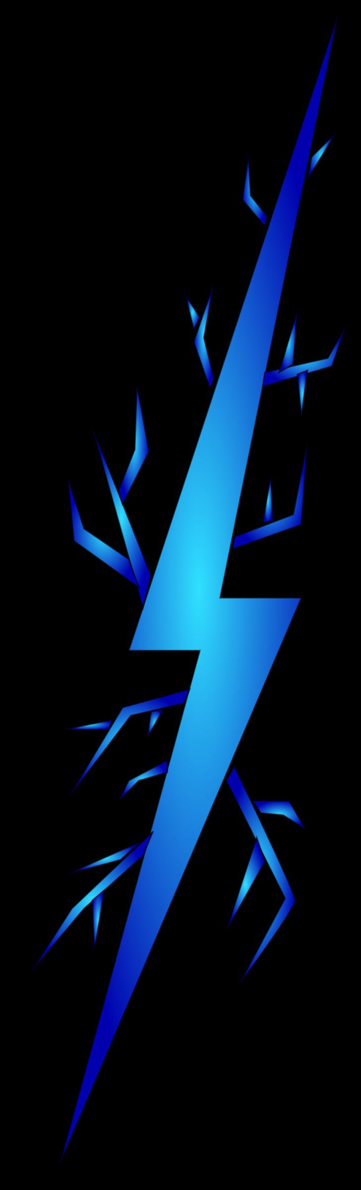 728x2400 Lightening Clipart Electricity Bolt