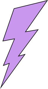 165x300 Purple Clipart Lightning Bolt