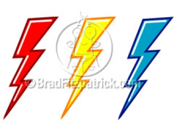 350x263 Cartoon Lightning Bolts Clipart Picture Royalty Lightning Cloud