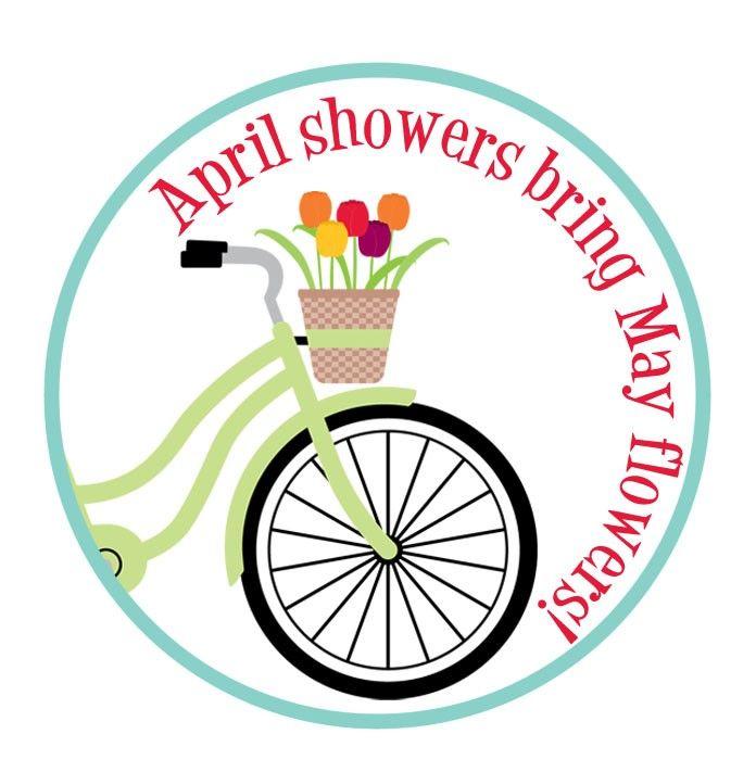696x711 April Showers Bring May Flowers Clipart Snowjet Co Clip Art