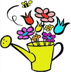 235x241 Free May Flowers Clipart