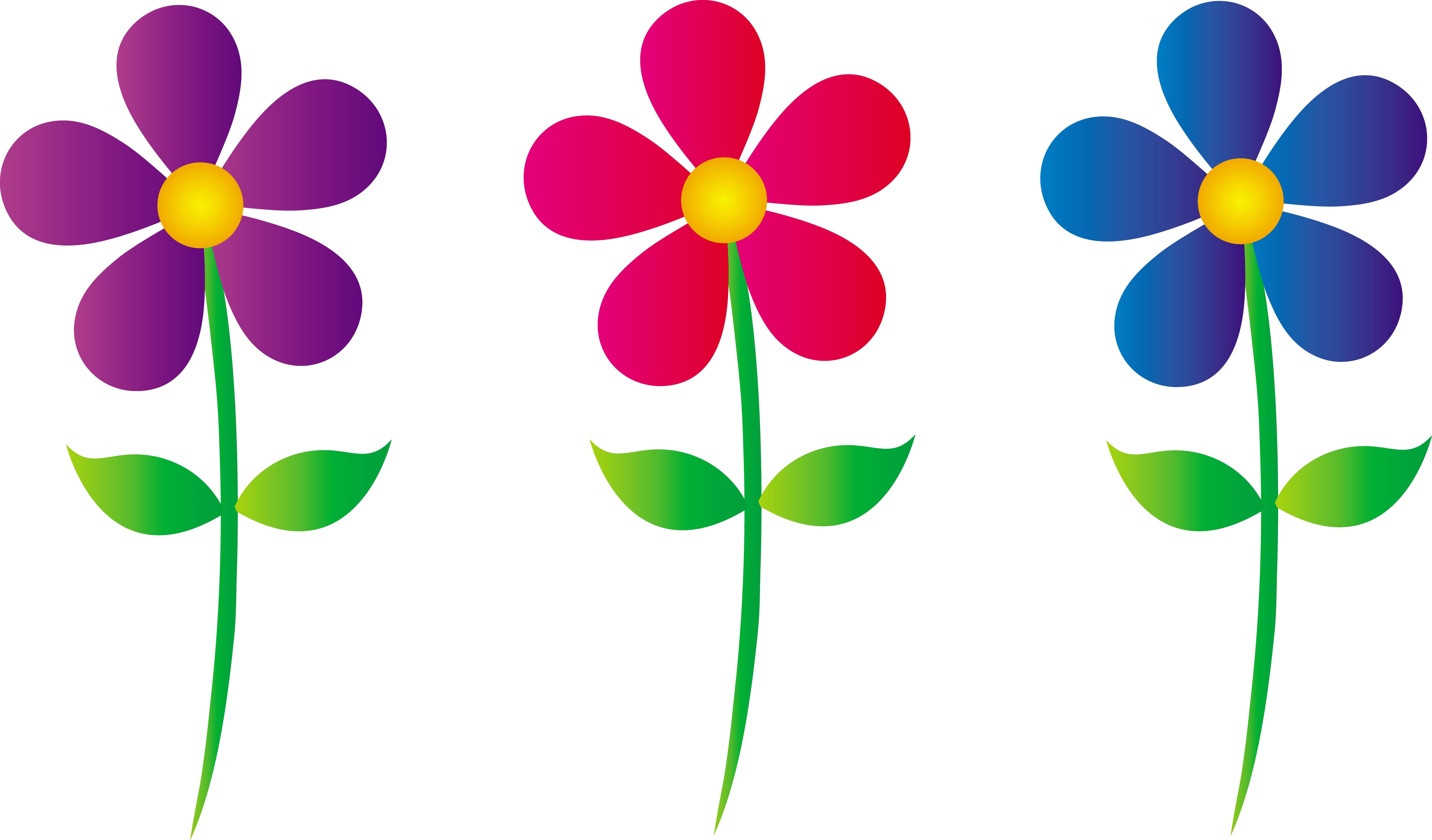 7747x4545 May Flowers Clip Art