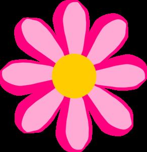 291x300 Pink Flower 2 Clip Art