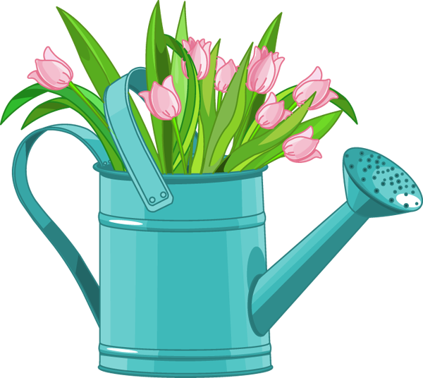 600x536 Web Design Clip Art, Spring And Flowers