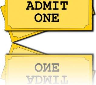 317x280 European And American Movie Ticket Clip Art Vector Misc Free
