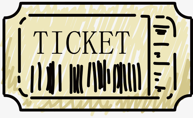 650x400 Simple Movie Tickets, Movie Ticket, Bill, Cartoon Png And Vector