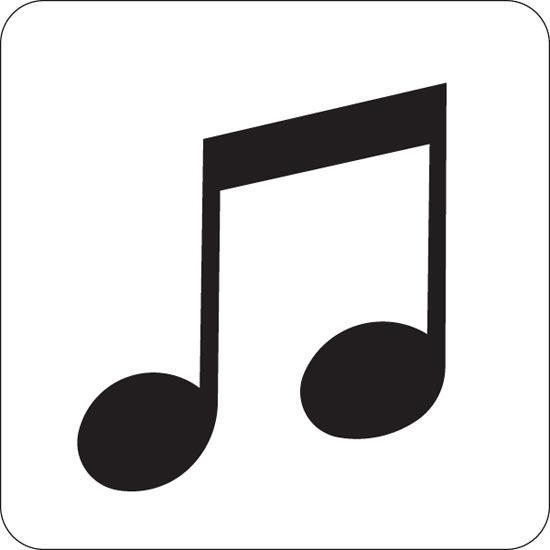 550x550 Tiny Music Note 25280 Hd Clipart Panda